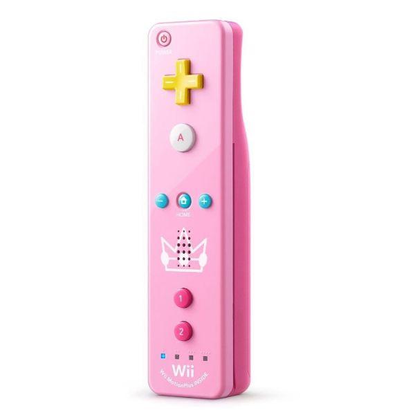 Télécommande Wii U Plus Princess Peach rose