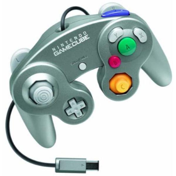 Manette Nintendo Gamecube Officielle Platine
