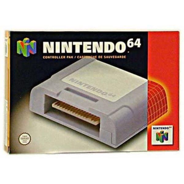 Nintendo 64 Carte mémoire manette