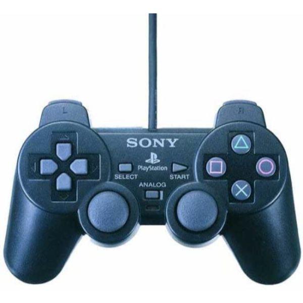 Manette PS2 Dual Shock – noire