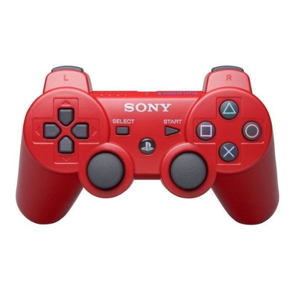 Manette PS3 Dual Shock 3 – rouge