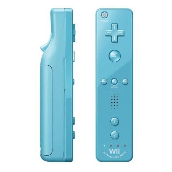 Télécommande Wii Plus  bleu