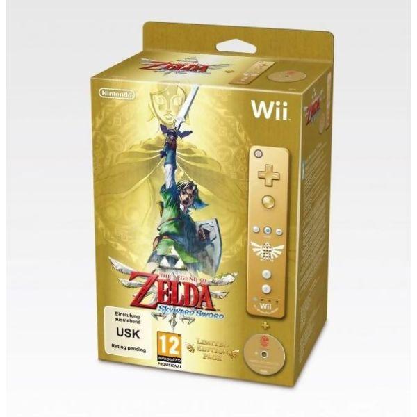 The Legend of Zelda : Skyward Sword + Symphony Concert CD  Wiimote Zelda