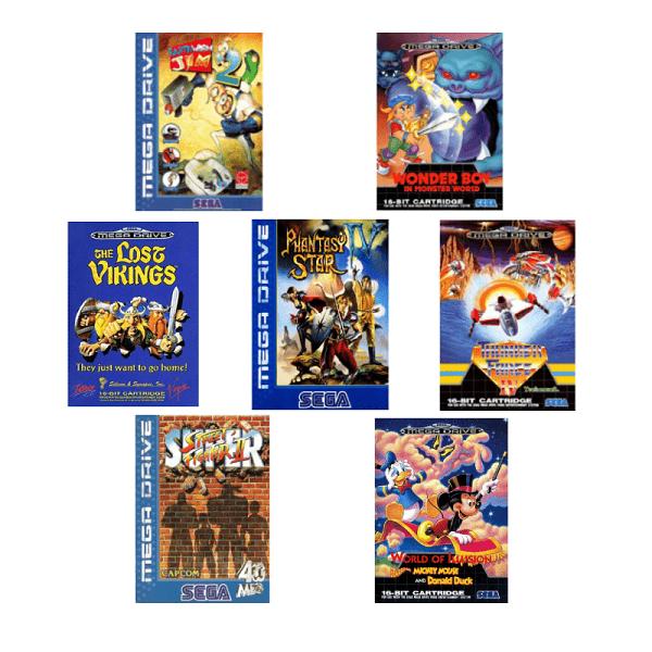 Jeux Sega Megadrive