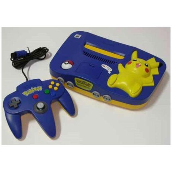 Console Nintendo 64 Pokémon Pikachu