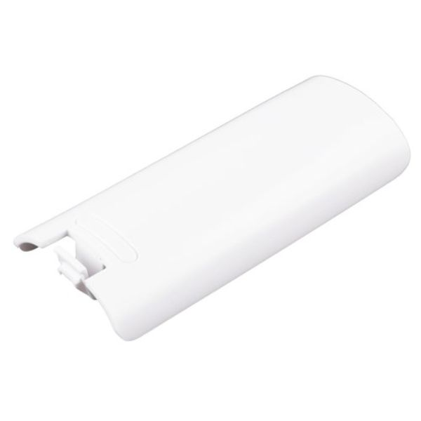 COUVERCLE CACHE PILE BATTERIE BLANC POUR MANETTE WII WIIMOTE BATTERY COVER NEUF