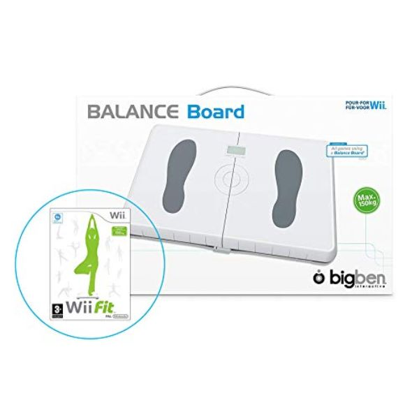 Wii Balance Board (Blanc) + Wii Fit Plus