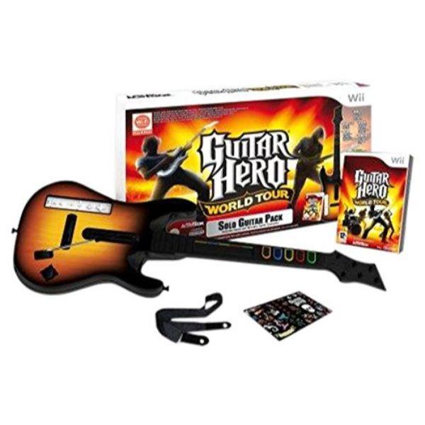 Guitar Hero World Tour + guitare