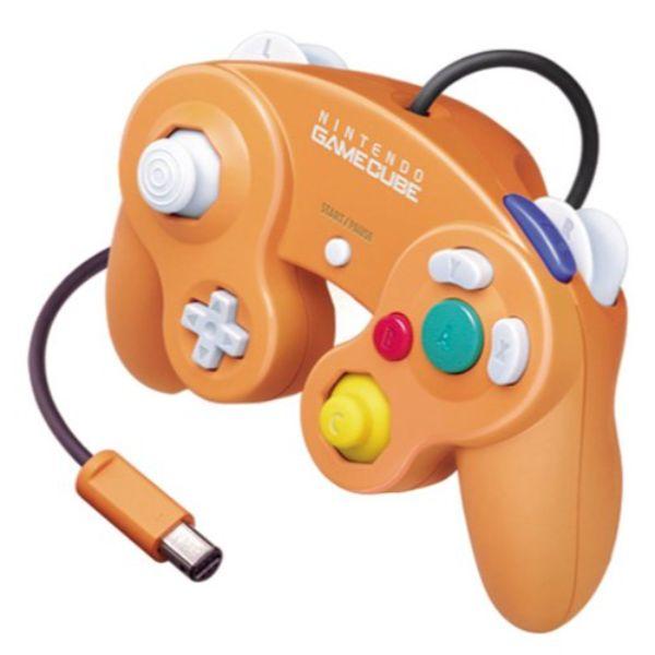 Manette Nintendo Gamecube Officielle Orange