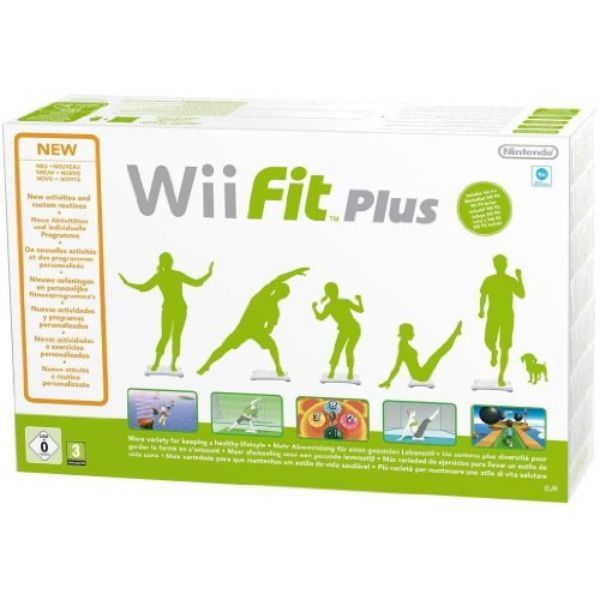 Wii Fit Plus + Wii Balance Board – blanc