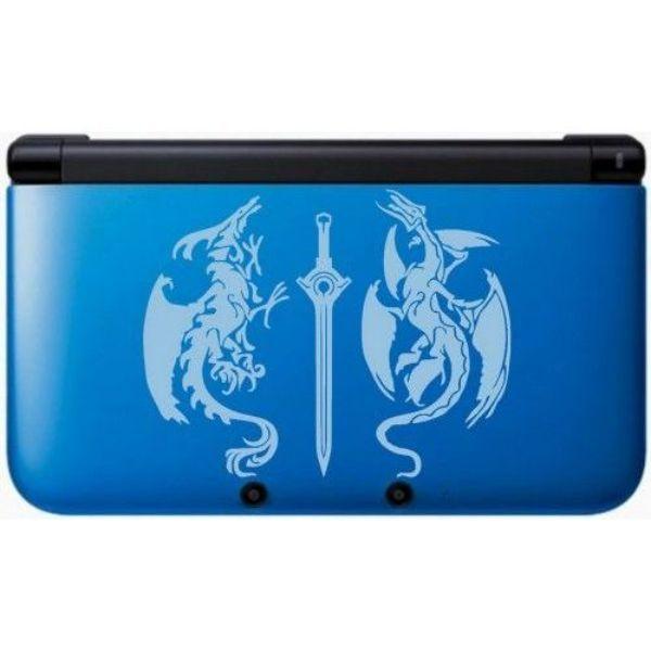 Console Nintendo 3DS XL Fire emblem bleu